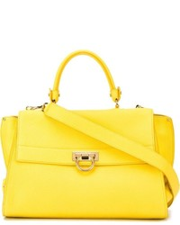 d579ac9499 Women s Yellow Leather Tote Bags by Salvatore Ferragamo