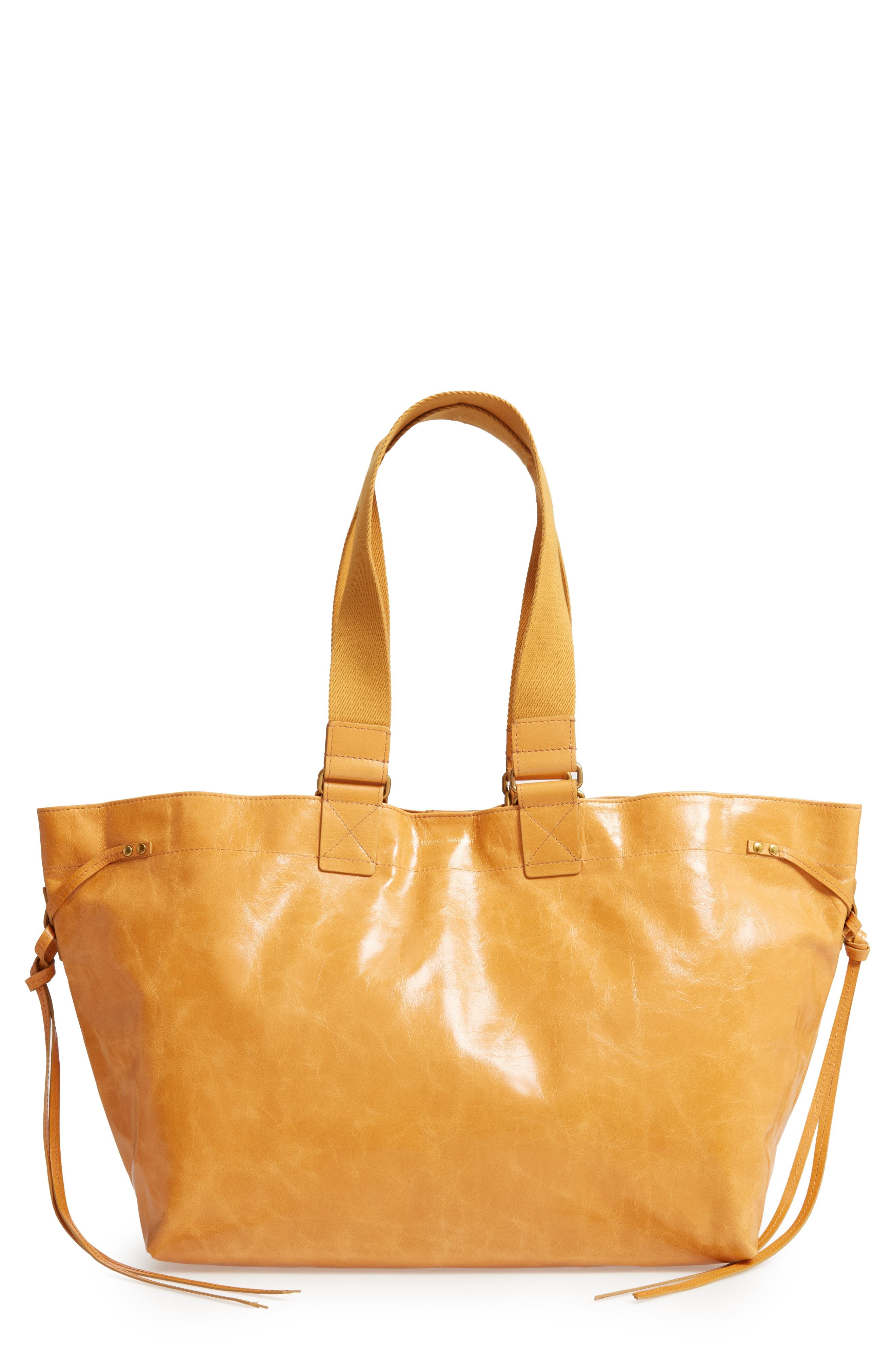 1e3d18a699 Isabel Marant Wardy New Leather Shopper, $995 | Nordstrom ...