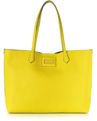 Hogan Yellow Leather Tote