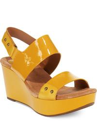 Clarks Artisan Caslynn Dez Platform Wedge Sandals