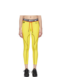 Nike Yellow Off White Edition Nrg Ru Pro Tights