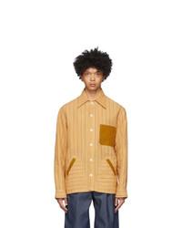 Nicholas Daley Yellow Yussef Shirt Jacket