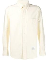 Thom Browne University Stripe Button Down Shirt