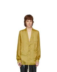 Rick Owens Yellow Larry Shirt