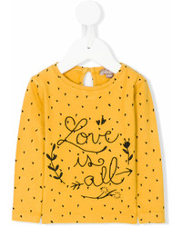 Emile et Ida Love Is All Embroidered T Shirt