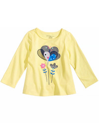 First Impressions Sweet Chic Flower T Shirt Baby Girls Created For Macys