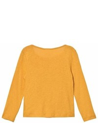 Cyrillus Yellow Long Sleeve Tee