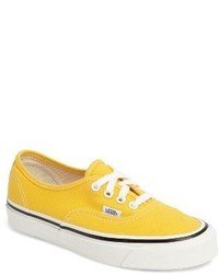 Yellow low top sneakers original 3694734