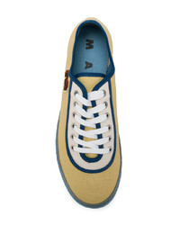 Marni Two Tone Low Top Sneakers