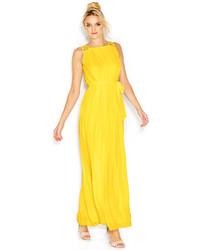 e588fcaa344 ... Jessica Simpson Crochet Strap Pleated Maxi Dress