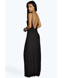 713ec73f1210 Boohoo Libby Strappy Low Back Maxi Dress, $22 | BooHoo | Lookastic.com