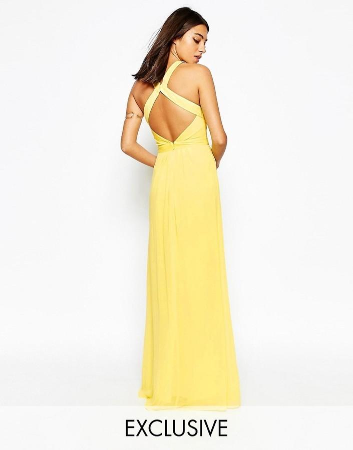 Warehouse Warehouse Cross Back Maxi Dress Where To Buy How To Wear