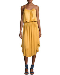 Heritage sleeveless shirred jersey midi dress medium 3768133