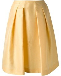 Yellow midi skirt original 1472811