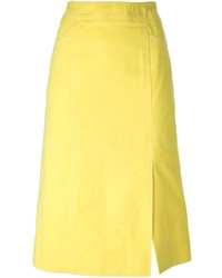 Celine cline vintage a line midi skirt medium 278453