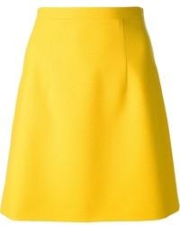 A Line Yellow Skirt - Redskirtz