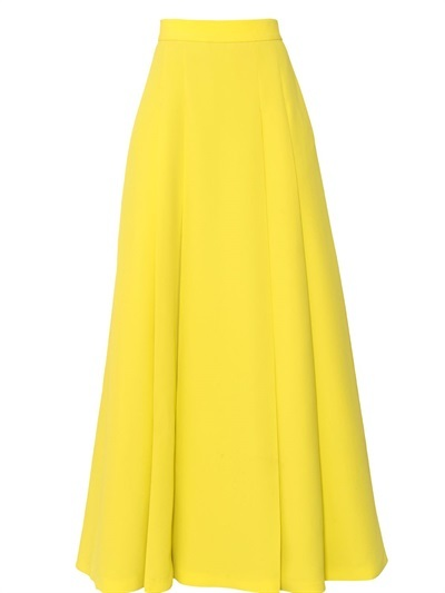 Fausto Puglisi High Waisted Viscose Cady Long Skirt | Where to buy ...