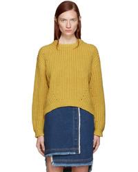 Acne Studios Yellow Wool Hira Sweater