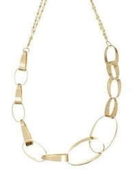 Lana 14k Small Gloss Link Necklace