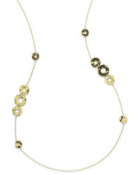 Ippolita 18k Sensotm Disc Station Necklace