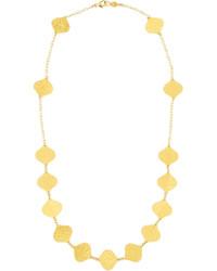 Gurhan 24k Clove Flake Station Necklace