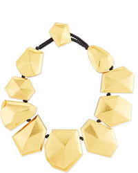 Viktoria Hayman Faceted Foil Stardust Necklace