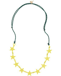 J.Crew Girls Rope Cord Star Necklace