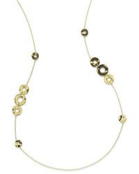 Ippolita 18k Sensotm Disc Station Necklace