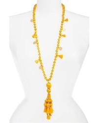 Kate Spade New York Pretty Poms Tassel Necklace