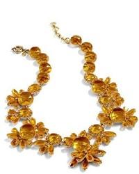 J.Crew Sunshine Crystal Necklace