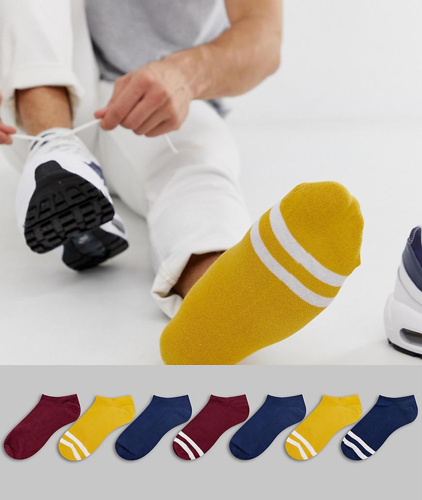 ASOS DESIGN Trainer Socks In Fashion