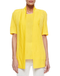 Yellow open cardigan original 9273488