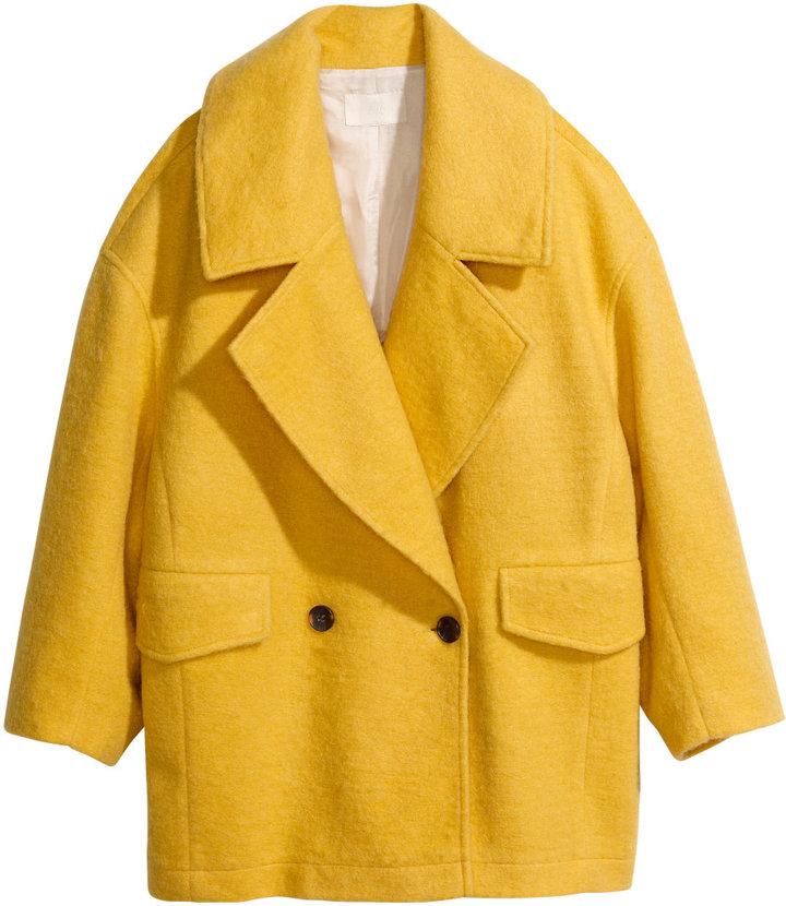 Boxy coatyellowladies for Boden yellow raincoat