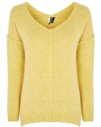 Oversized v neck jumper medium 5269361