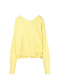 Erika Cavallini Rear Buttoned Sweater