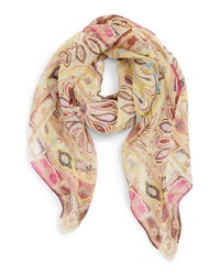 Etro Bombay Square Silk Scarf