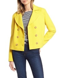 1901 Cropped Peacoat