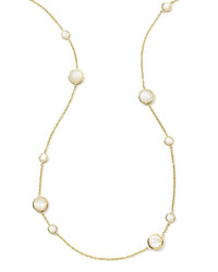 Ippolita 18k Rock Candy Lollipop Necklace In Mother Of Pearl 37