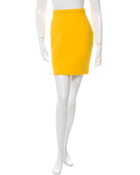 Michael Kors Michl Kors Wool Pencil Skirt