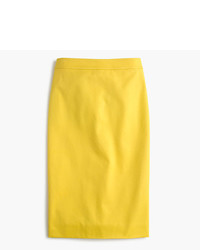 J.Crew Tall No 2 Pencil Skirt In Two Way Stretch Cotton
