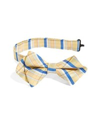 Nordstrom Cotton Silk Bow Tie Yellow One Size