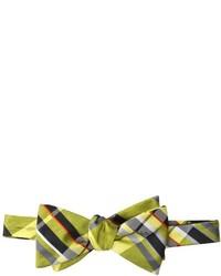 Ben Sherman Savile Plaid Bow Tie