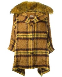 Yellow Plaid Coat
