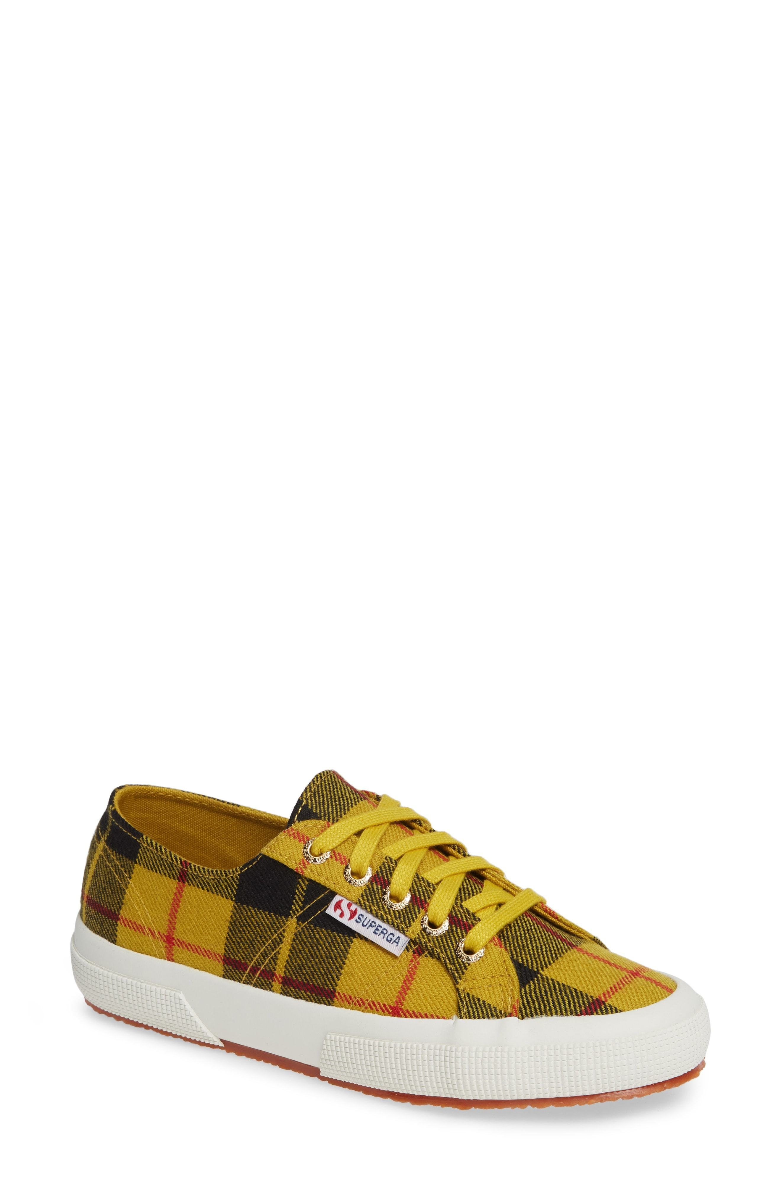 9c82cc2777fc ... Superga Tartan Print Sneaker
