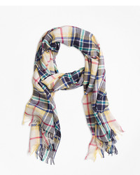 Brooks Brothers Plaid Scarf