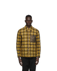 Burberry Yellow Charfield Jacket