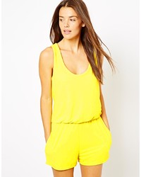 1d07410dd14 Asos Collection Bandeau Romper With Scallop Edge Out of stock · Asos  Towelling Beach Romper