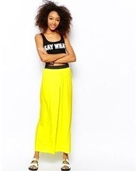 Monki wrap maxi skirt medium 69912