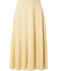 Acne Studios Iphy Flu Jersey Midi Skirt
