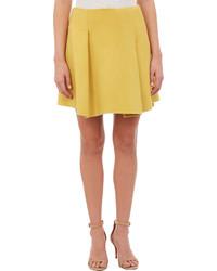 Jil Sander Pleated Mini Skirt
